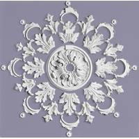 Gypsum decorative set rosette РН/001