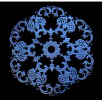 Gypsum set rosettes РН/008