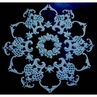 Set rosette(gypsum) РН/010