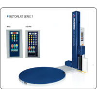 Полуавтоматическая упаковочная машина паллетообмотчик ROTOPLAT Серии 7 ROBOPAC