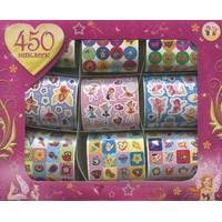 450 наклейок для дівчаток