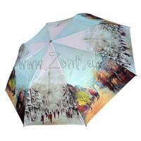 Женский зонт Zest Осень в Париже ( автомат ) арт. 23625-6