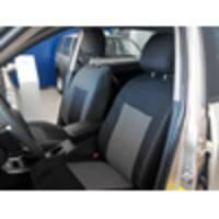 Чохли на сидіння автомобіля KsuStyle Fiat Linea 2013 - чорні
