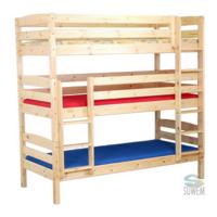 Багатоярусні і односпальні ліжка