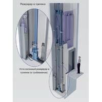 Гидравлический лифт без машинного отделения EFR