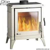 Чугунная печь INVICTA SEDAN 10 кремовая эмаль - 10 кВт