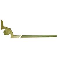 Угловой декоративный элемент из гипса Ке/004 + Мо/014