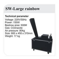 Конфетти машина SW-LARGE RAINBOW
