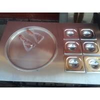 Фризер для ЖАРЕНОГО МОРОЖЕНОГО, 2 сковороды, модель BQF112C, 50 литров в час