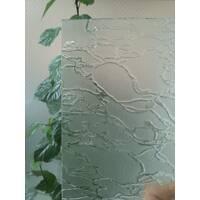 Узорчатое стекло, абстракция