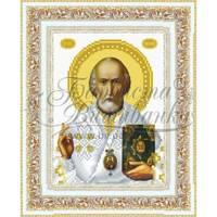 TO070ан1622  Святий Миколай Чудотворець 16 см x 22 см