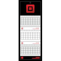 Календар квартальний на три пружини