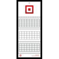 Календар квартальний на одну пружину