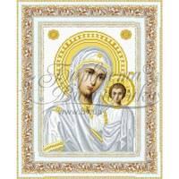 TO049ан2332 Казанська Ікона Божої Матері 23 см x 32 см