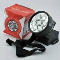 Ліхтарик світлодіодний на голову 7 led / 1396