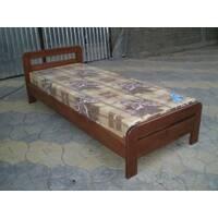 Ліжко з натурального дерева Л9