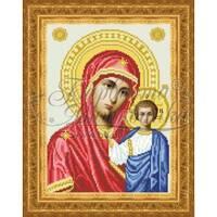 TO051ан2332  Казанська Ікона Божої Матері 23 см x 32 см