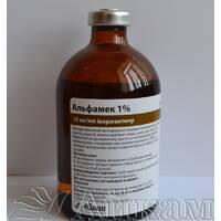 Альфамек 1% ветеринарный препарат