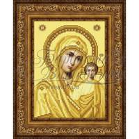 TO063ан1622  Казанська Ікона Божої Матері 16 см x 22 см