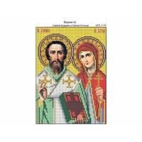 И-169 Святой Куприян и Святая Устинья 16х22