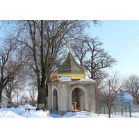 Церковный купол с золотым напылением под заказ