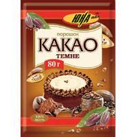 Какао-порошок темный, 80г
