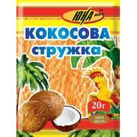 Кокосовая стружка оранжевая, 20 г