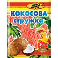 Кокосовая стружка красная, 20 г
