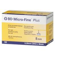 """Голки """"Мікро-Файн"""" 8мм (BD Micro-Fine+) - 100шт"""