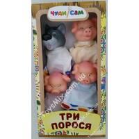 """Ляльковий театр """"Троє поросят"""""""
