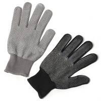 Перчатки нейлоновые с ПВХ (микроточка) А-15