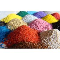 Кварцевый цветной песок