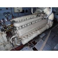 Двигатель 12ЧСН 18/20 (с реверс-редуктором), ОАО Звезда, Ленинград