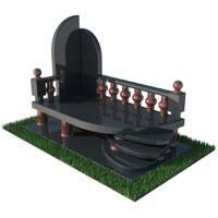 Гранітний надгробний комплекс