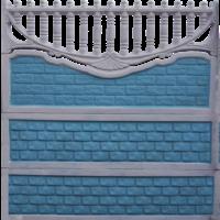 Набірний бетонний паркан