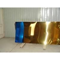 Нержавіючий лист покритий під золото