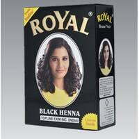 Індійська хна басма Royal натуральна чорна