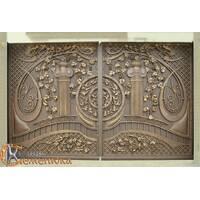 Ворота кованые №123
