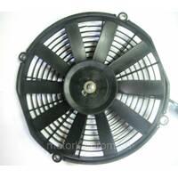 Вентилятор конденсатора універсальний, що штовхає 12v, 325мм.