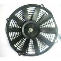 Вентилятор конденсатора універсальний, що штовхає 12v, 280мм.