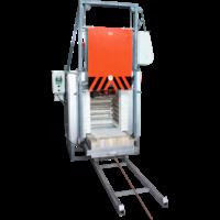 Термическая печь с выкатным подом СДО-5.5.5/12 и вентилятором, купить
