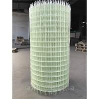 Композитна сітка 50х50 мм, діаметр сітки 2 мм