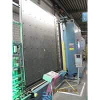 Стеклопакетная линия Lisec 2500 Х 3500 с газ прессом и роботом герметизации