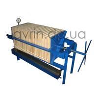 Line filtration of vegetable oils, P-4