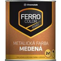 "Фарба ""FERRO COLOR"" мідна ковальський ефект 0,75л."