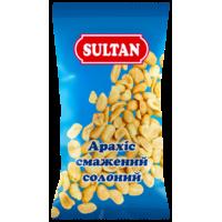 Арахис жареный солёный, 60 г, ТМ SULTAN, купить в Украине