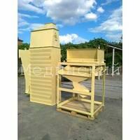 Охладитель гранулы. Охладительная колонна с просеивателем для линии гранулирования