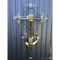Хрест накупольний православний, купити в Україні недорого