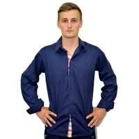 Рубашка официанта (темно-синяя) ДРс-1