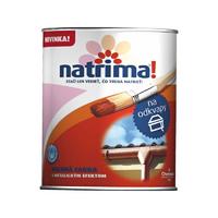 """Фарба """"Natrima"""" для карнизів та водостоків 0,6л. срібло"""